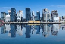 CITIES, BUILDINGS ETC.