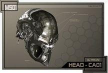 Шлемы (Арт, 3D) / Здесь Идеи шлем найденные на прострах интернета