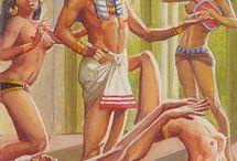 Древний Египет (современный арт)