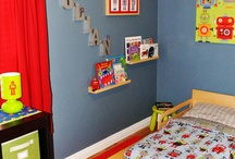 Boy Toddler Room Ideas / Ideas for James's bedroom as a toddler. / by Laura McCormick