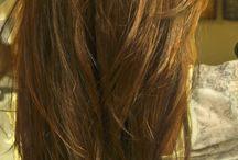 long hair layer cut