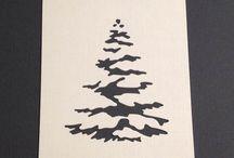 Die- Stanze- Tannenbaum