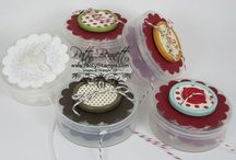 Stampin' Up! hostess gifts/lucky door prizes