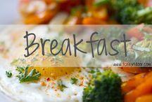 BREAKFAST / Kara Larkin's Breakfast Recipes    Pancakes, Waffles, Oats, etc.
