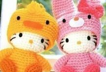 Hello Kitty / Barnkläder -och leksaker att skapa själv