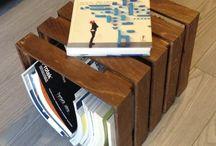 CUBE / Cube è un sistema d'arredo in legno per esterni ed interni