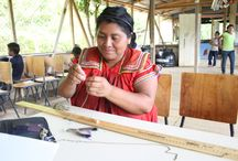 Artisans In Action / The amazing women behind the HPH brand! Through their work with Hands Producing Hope, these women are able to help provide for their families, learn of their value and worth, and receive educational opportunities!