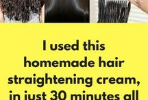 home remedy for straight hair