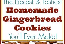 Gingerbreads and cookies