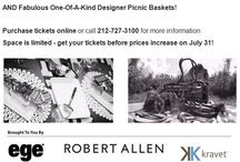 Picnic by Design 2015 INSPIRATION & SKETCHES / On August 5, 2015 DIFFA will host the 4th Annual Picnic by Design at NYC's Ramscale Studio. Sip cocktails and wine while savoring picnic fare from fabulous NYC restaurants AND bid to win one-of-a-kind designer picnic baskets. See here for the incredible designer's inspirations and visit www.diffa.org to make one of these beautiful baskets yours!
