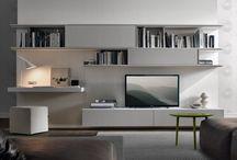 white tv module