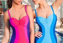 One-piece Swimwear by Self / one piece bathing suits, Self Collection