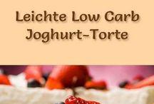 low carb Kuchen und Torten