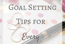 Planning / Goal Setting