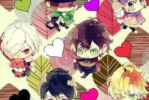 Diabolick Lovers(づ ̄ ³ ̄)づ / Los vampiros mas hermosos del mundo del anime ahora en tu movil