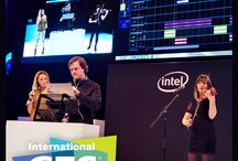 """CES / Open Labs returned to CES """"the consumer electronics show"""" to demo Stagelight """"the easy way to create music"""". We got some great exposure including a performance at the Intel booth using Stagelight!"""