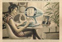 60'larda Sosyal Medya / Mad Men yapımı sosyal medya reklamları değil; Maxi Midia şirketinden ''Everything Ages Fast. Update.'' adlı başarılı bir çalışma.