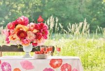 Coral pink poppy party / by Design{on}Paper