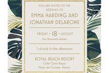 Tropical invites