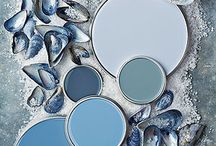 Color Pallette's Of Paint / Colorful paint and color combinations to inspire you and your home.