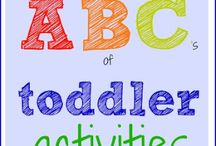 All About the ABC's / Fun games and activities for helping your child learn the alphabet.