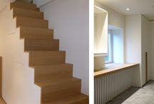 Staircases - Made-to-measure in wood
