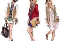 Sketch the fashion