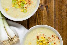 polévky/ soup