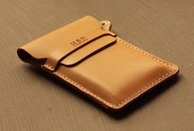 leather / leather phone case