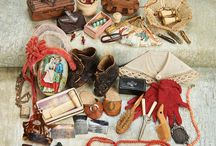 antique  poupee accessories