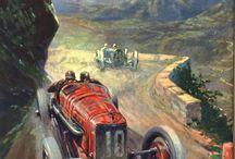 Classic Car Paintings