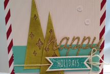 Stampin' Up! Watercolor winter Card kit