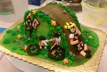 Cyclist cake / Cycling cake
