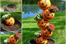 Halloween tuin ideeën