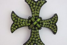 Brooches--Crosses / by Micheale Davis