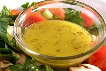 Salad and salad dressings / by Kelly Fabrizio