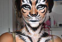 Tigermålning