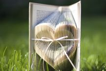 My Folded Book Art Hearts / Folded Book Art by The Folded Page