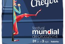 Cliente: Festival Mundial de Circo / Festival Mundial de Circo • Cartazes: 2014