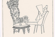 Saul Steinberg. / my favourite illustrator.