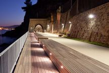 Waterside spaces - lighting