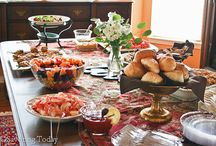 Showers, Parties, Entertaining Menus / Recipes ideal for bridal or baby showers, parties, or general entertaining.