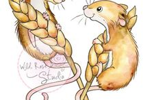 Stamps - mice