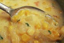 Corn chowder / Soup