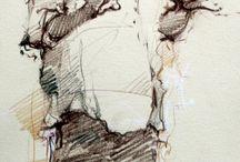 lukisan person