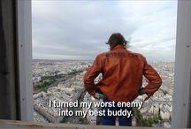 Facades building & Alain Robert  / Buildering. Urban-climbing. Spiderman. Video. Movies