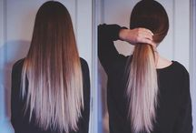 The ombre look!