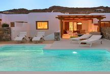 "Villa Eratos #Mykonos #Greece #Island /  Villa Eratos is a luxurious high aesthetic villa with a private pool and excellent sea views , located steps from the cosmopolitan beach of "" ELIA "" , 10 km from Mykonos Town ( "" Chora "" ) and 3km the traditional village of Ano Mera . http://www.mygreek-villa.com/fr/rent-villa-search-2/villa-eratos"