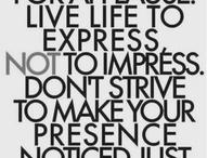 Fav Quotes! / by Mari Montes