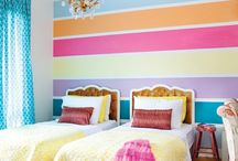 Bedroom Design for the Kids / Bedroom ideas for kids of all ages. Everything from cute to sophisticated. All kids want their room to be special - get ideas here! / by Kelly @MoneyMakingMommy